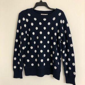 Polk a dot sweater